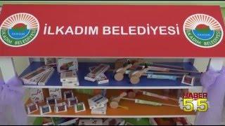 İLKADIM'DAN ANAOKULLARINA AHŞAP OYUNCAK DESTEĞİ