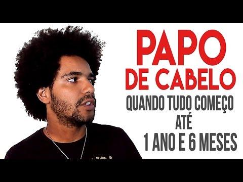 PAPO DE CABELO - QUANDO TUDO COMEÇO ATÉ 1 ANO E 6 MESES