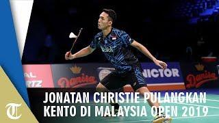 Jonatan Christie Pulangkan Kento Momota di Malaysia Open 2019