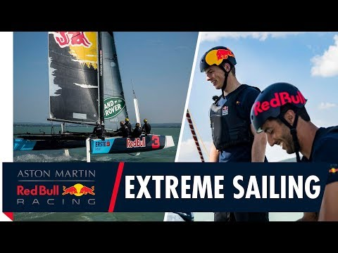 From Track to Tack | Daniel Ricciardo and Max Verstappen set sail before the Hungarian Grand Prix