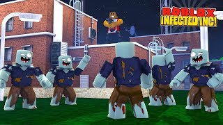ROBLOX  INFECTED INC - DONUT STARTS HIS OWN ZOMBIE ARMY TO ATTACK THE LITTLECLUB!!
