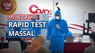 Bawa Mobil Laboratorium, BIN Gelar Rapid Test di Stasiun Bekasi
