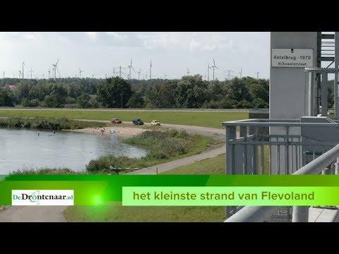 VIDEO | Al twintig jaar vaste klant bij het Ketelstrand, het kleinste strand van Flevoland