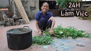 Bà Tân Vlog - Thử Thách 24H Cuộc Sống Thường Ngày Của Bà Và Các Con