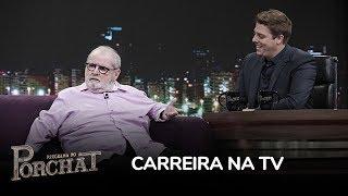 """Jô Soares manda endireita para Globo em entrevista no Porchat: """"Não sinto falta"""""""