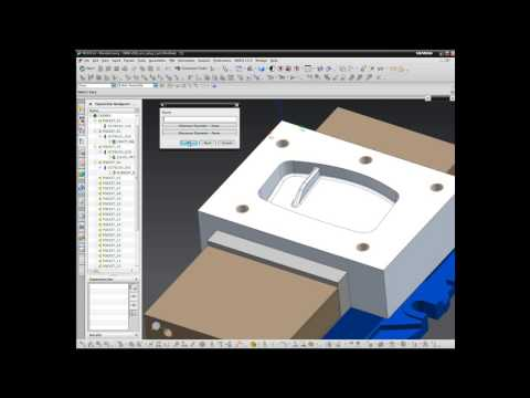 CAM Express and Solid Edge Demo