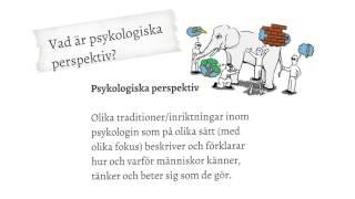 Vad är Psykologi?