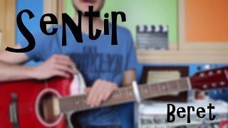 "Cómo Tocar ""Sentir"" Beret En Guitarra. Tutorial Fácil. Acordes"