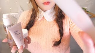 "ASMR Korean ""I'll let you sleep well today."" (Skin Care & Beauty Therapy)"
