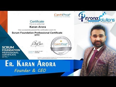 Get Certified For FREE in Scrum Foundations Professional ...