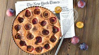 Сливовый ПИРОГ из газеты The New York Times ☆ ЛЮБИМЫЙ пирог американок