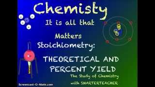 CH 12 CHEMISTRY THEORETICAL AND PERCENT YIELD