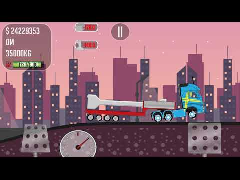 The game trucker Joe we transport concrete details to the construction site of the pipe mill