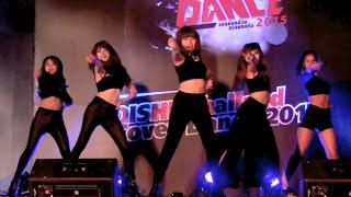 150801 Liquor cover 4Minute - Ready Go + Crazy @OISHI Thailand Cover Dance 2015 (Audition)