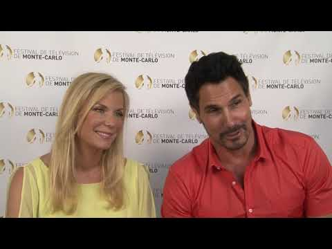 Don DIAMONT & Katherine LANG - The Bold & The Beautiful interview - FTV13