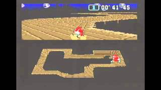 """Super Mario Kart (PAL) Time Trial : Ghost Valley 2 (GV2) - 1'00""""49 NBT (World Record)"""