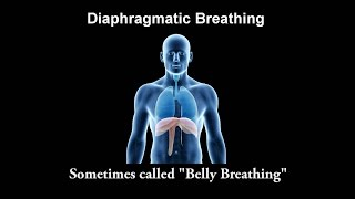 Diaphragmatic Breathing Part 1 of 3 - Intro to Diaphragmatic Breathing