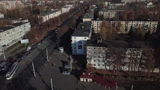 Реклама на фасадах - Витебск Фрунзе 61