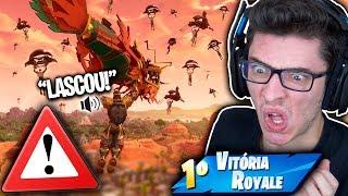CAI NA NOVA CIDADE DO FORTNITE E ISSO ACONTECEU! Fortnite: Battle Royale