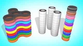 Собираем Цветные Спиннеры   Мультики для детей   Учим Цвета и Цифры   Волшебство ТВ