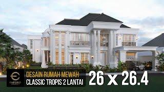 Video Desain Rumah Classic 2 Lantai Bapak Boy di  Kalimantan Barat