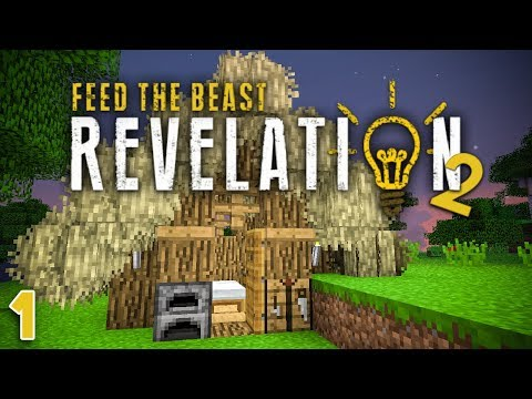 FTB Revelation - Ep 2 - Power Mining