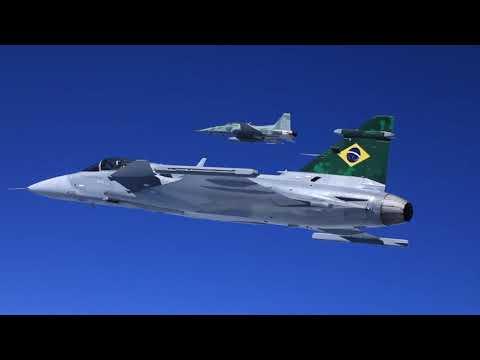 Brasil conmemora el día de la Aviación de Caza