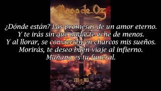 Mägo de Oz - Tu Funeral (Letra)