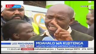 Wakazi wa Nyeri watoa kauli yao kutokana na mdahalo wa kujitenga