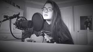 Hurt Somebody  Noah Kahan (Acoustic Cover By Annamarie Rosanio)