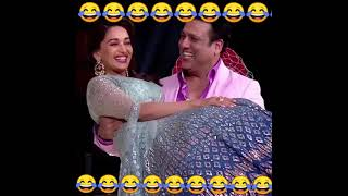 Govinda and madhui dixit best funny moments collection ||