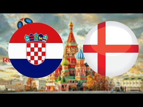 FIFA World Cup 2018 | SEMIFINÁLE | Chorvatsko - Anglie | CZ/SK