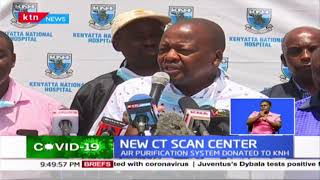 CT Scan center unveiled at Kenyatta National Hospital