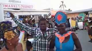 preview picture of video 'Carnival, Hillsborough, Carriacou, Grenada Pt. 2'