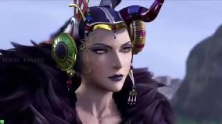 Edea - Dissidia Final Fantasy NT - Ultimecia alternate outfit intro, Summon and Winning
