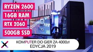PC DO GIER ZA 4000 ZŁ: EDYCJA 2019 | TEST W RE: 2, GTA V, AC: Odyssey, SOTR, WoT.