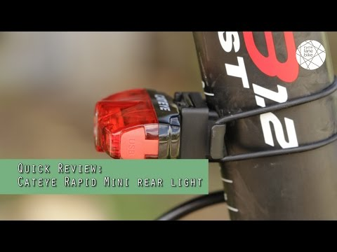 Cateye Rapid Mini Rear Light Review