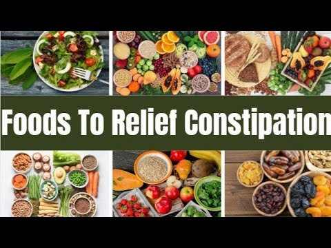 13 Foods To relief constipation || How to relieve chronic constipation with diet || Fitness || Tips.