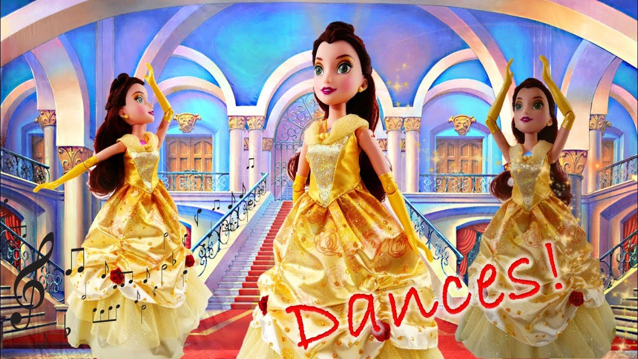 Disney Princess Dance Code Belle - Bring Belle to Life with Dance!