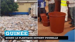 Sodiaplast, l'entreprise guinéenne qui transforme le plastique en poubelles... mais pas que !