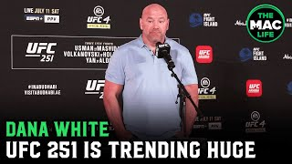 Dana White: 'Conor McGregor vs. Jorge Masvidal could be the biggest fight in UFC history'