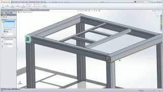 SolidWorks Weldments 101 - Simple Table