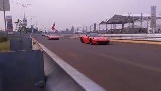 45 Ferrari Jajal Perdana Street Circuit BSD City