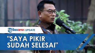 Namanya Disebut SBY Lagi saat Bahas Isu Kudeta di Demokrat, Moeldoko: Saya Pikir Sudah Selesai