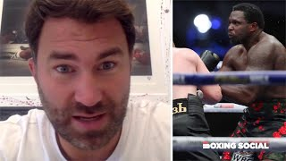 """UNBELIEVABLE!"" - EDDIE HEARN ON WHYTE BRUTAL KO LOSS TO POVETKIN/JOSHUA-FURY, USYK & FRANK WARREN"