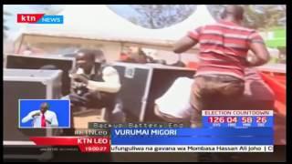 Vurumai yatanda kwenye mkutano wa ODM uliohudhuriwa na Hassan Joho