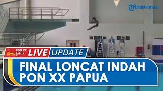Hasil Final Loncat Indah PON Papua: DKI Jakarta dan Jawa Timur Dominasi Perolehan Medali