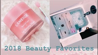 Beauty Favorites of 2018