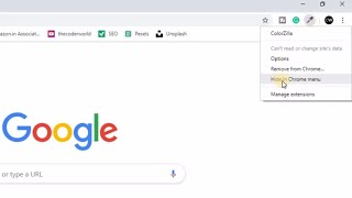 Hide/Unhide Extension Icons From Google Chrome Toolbar