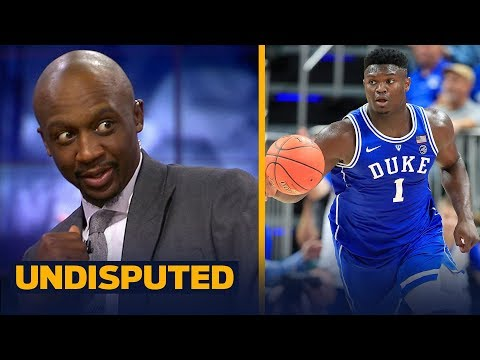 Jason Terry: Zion Williamson's upside could be compared to LeBron James | NBA | UNDISPUTED